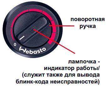 webasto коды неисправностей