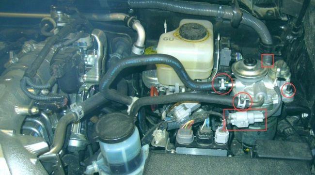 Снятие и замена топливного фильтра на Прадо 150