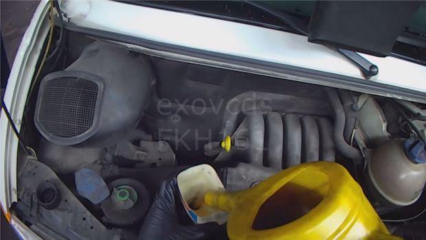 Замена масла в VW T4