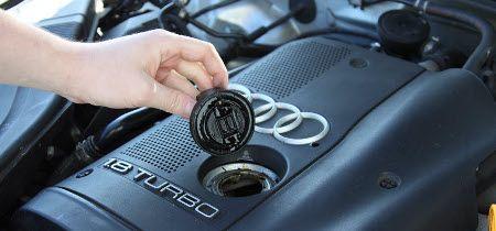 замена масла в двигателе Ауди А4