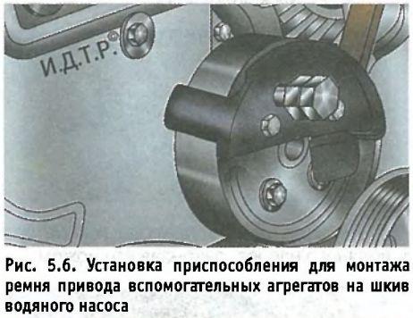 Замена приводного ремня Форд Фокус 3