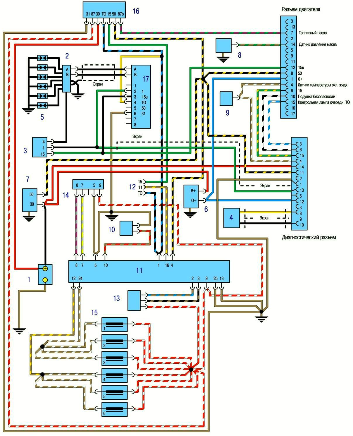Система впрыска топлива L-Jetronic