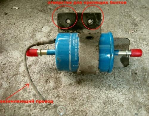топливный фильтр Chevrolet Aveo