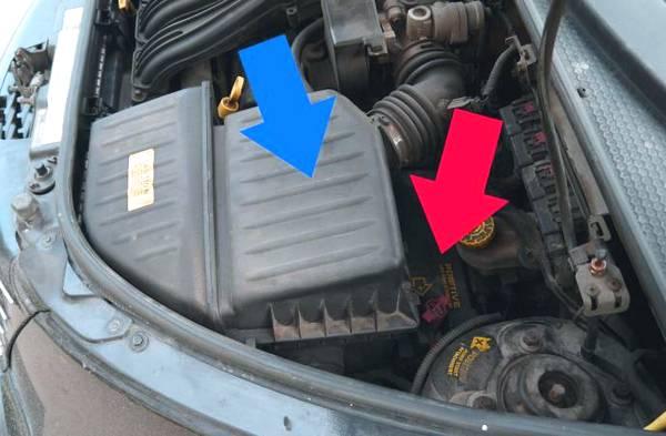 Блок предохранителей Chrysler PT Cruiser