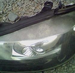 демонтаж фары Opel Astra G купе