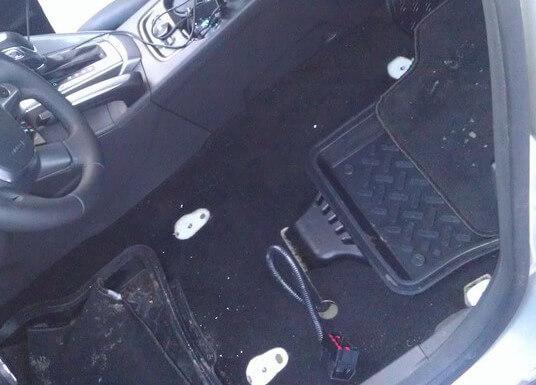 демонтаж переднего сидения ФФ3