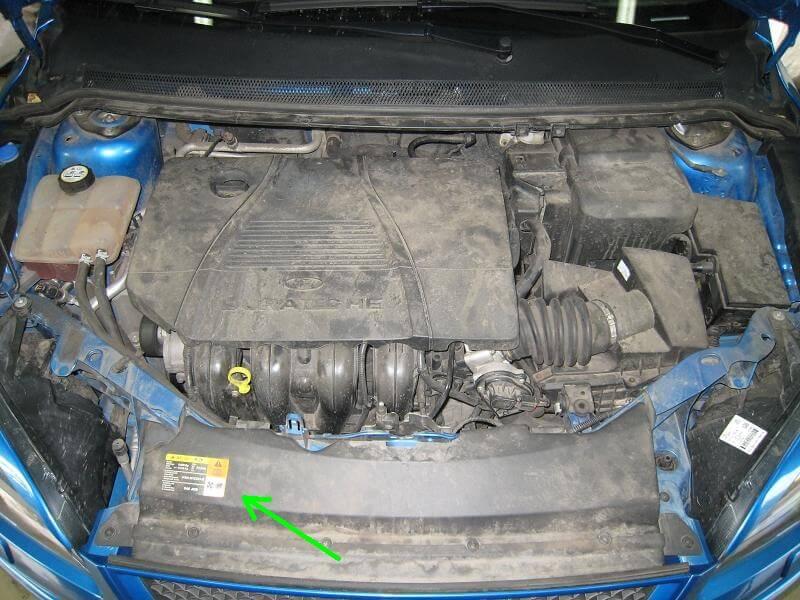 Заправочные нормы кондиционера Ford Focus 2