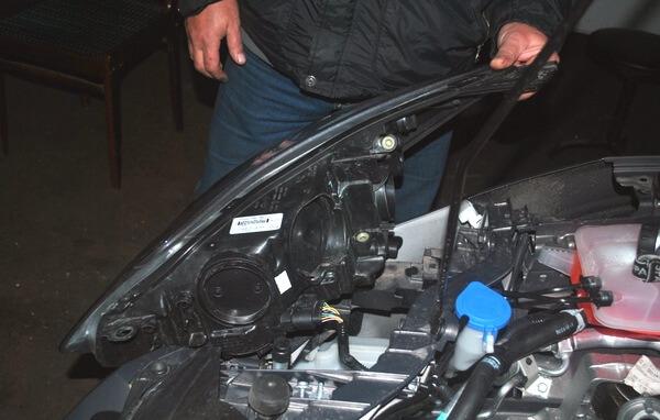 замена лампочек ближнего света форд фокус 3