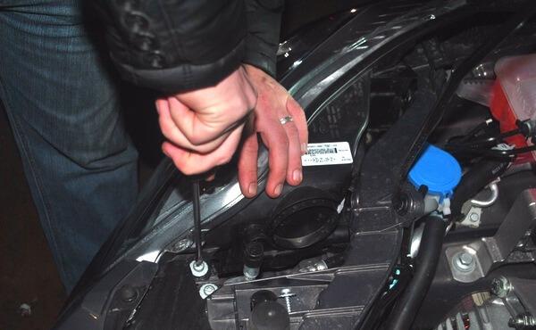 замена лампочек форд фокус 3