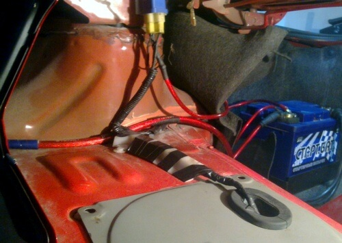 подключение топливного насоса напрямую с АКБ
