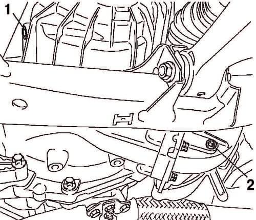 контрольное отверстие КПП M32WR