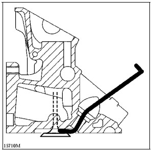 Измерение зазоров клапанов Renault Espace
