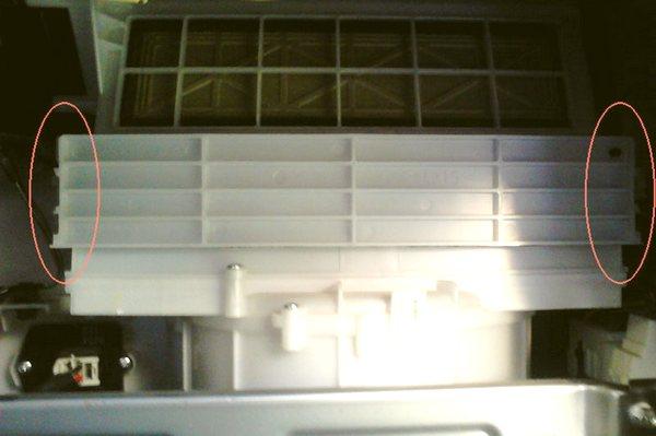 крышка фильтра салона Сузуки Гранд Витара