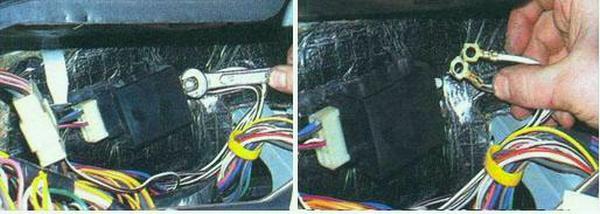 замена реле поворотов ВАЗ 2106