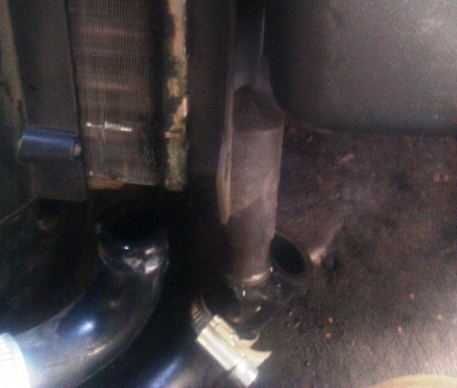 демонтаж радиатора печки ВАЗ 2114