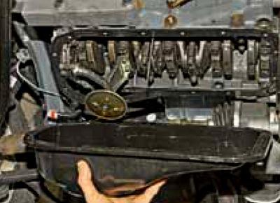 Поддон картера двигателя Granta