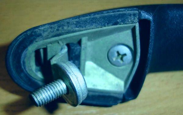 ремонт ручки двери калина