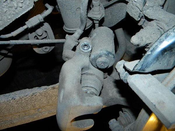 моторчик поршня тормозных колодок