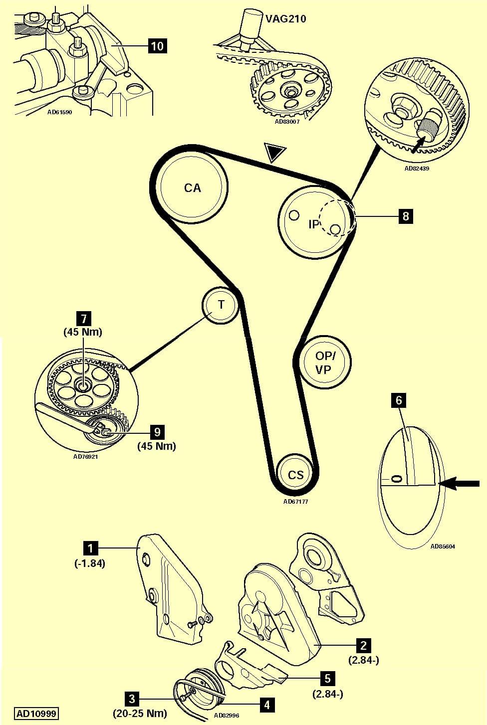 Схема установки приводного ремня на хендай солярис