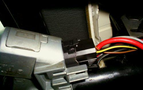 замена контактной группы замка зажигания Passat B3
