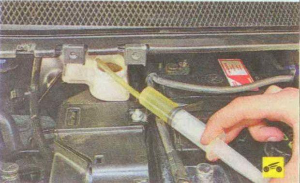 Замена тормозной жидкости Форд Фокус