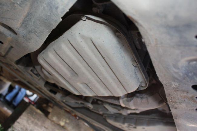 Поддон картера вариатора Nissan X-Trail