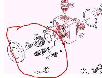 Топливный насос фольксваген транспортер т4 дизель подвесной железоотделитель на конвейере
