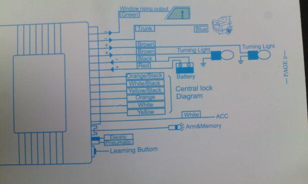 b0df655abec210cc2122fc652e36b55f - Схема блока управления центрального замка