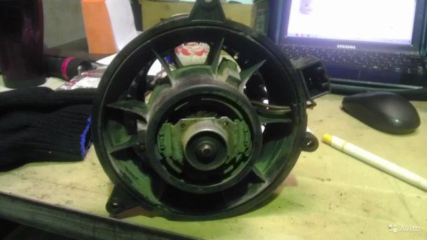 Мотор печки Форд Фиеста
