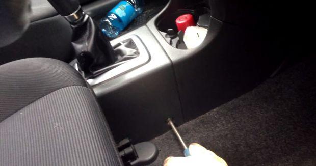 Как подтянуть ручной тормоз Suzuki Grand Vitara