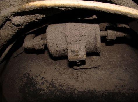 Старый фильтр тонкой очистки Лада Калина