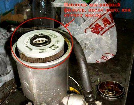 замена масляного фильтра бмв е34