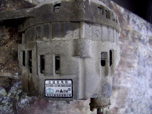 Чери Тигго генератор