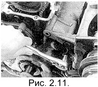 снятие насоса гидроусилителя рулевого управления