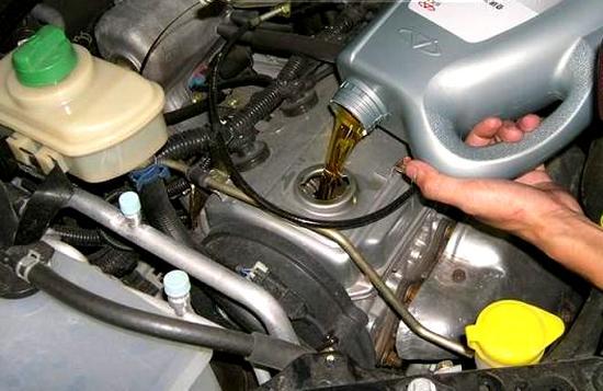 Замена масла в двигателе чери тиго 1.6