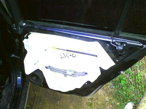 демонтаж карты двери Круз комплектации база