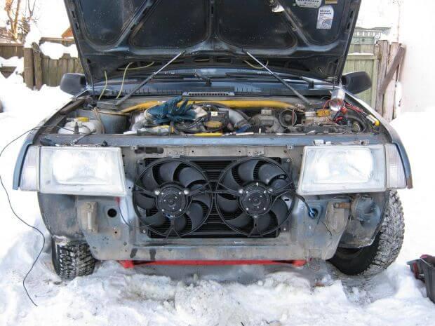 Вентиляторы охлаждения ВАЗ 2114