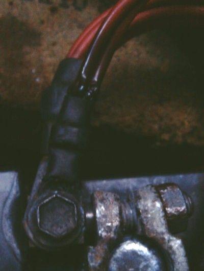 провода от АКБ мерседес 210