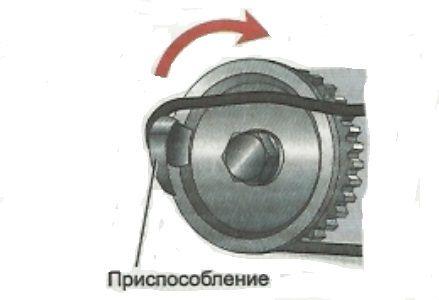 Устройство для установки ремня генератора Лада Гранта