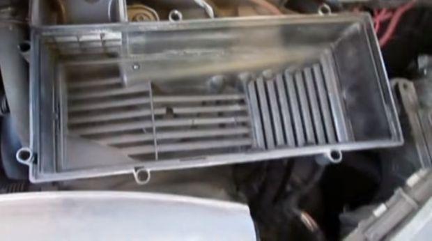 Замена воздушного фильтра Ауди А3