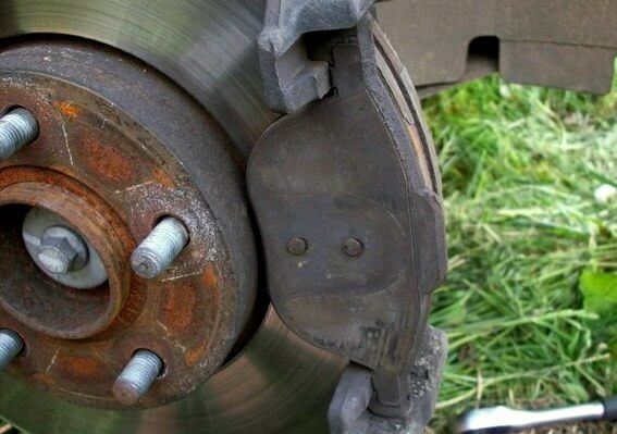 внешняя тормозная колодка Ford Focus 1