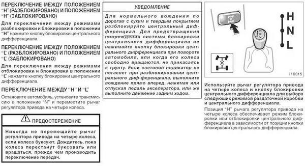 Инструкция пользования раздаткой Прадо