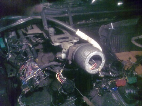 Снятие радиатора отопителя