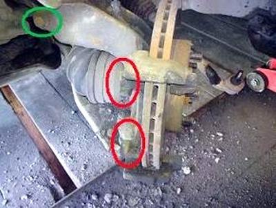 Как заменить ступицу на фф2