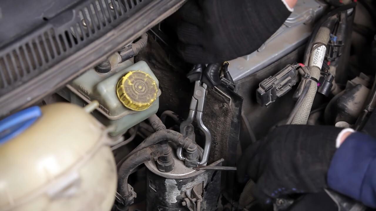 топливный фильтр замена транспортер т5