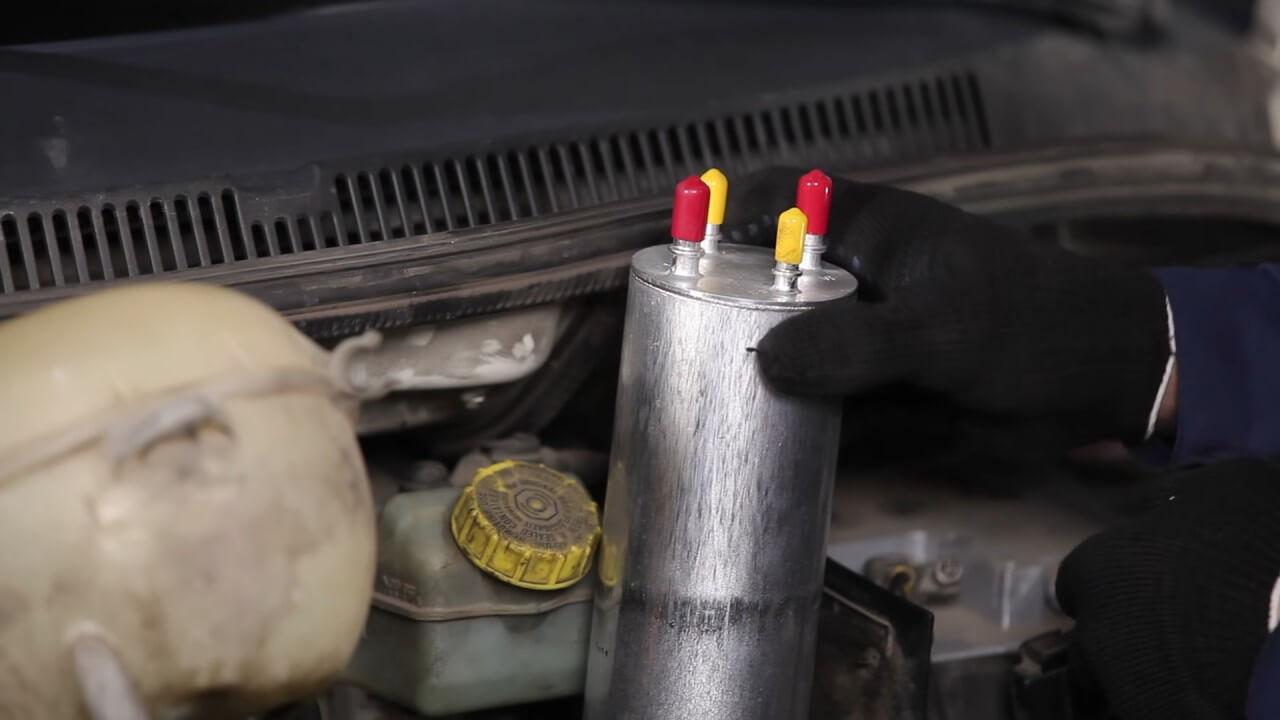 замена топливного фильтра фольксваген транспортер