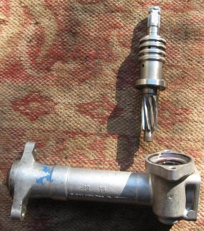 Ремонт рулевой рейки ауди 100 с3 своими руками 49