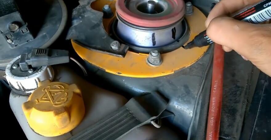 Замена передней стойки ВАЗ 2109. Фото, инструкция как поменять переднюю стойку ВАЗ 2109