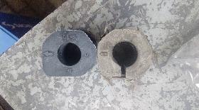 Замена наружных втулок переднего стабилизатора Паджеро 3