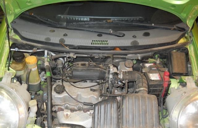 Daewoo Matiz (Chevrolet Spark) timing belt replacement